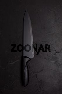 Best quality chef knife on dark surface