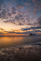 Sunset at a Beautiful Northern California Beach