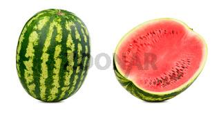 Fresh watermelon isolated