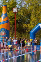 Ratingen/Deutschland/ Nordrhein-Westfalen -20.September: 12. Stadtwerke Ratingen Triathlon ein histo
