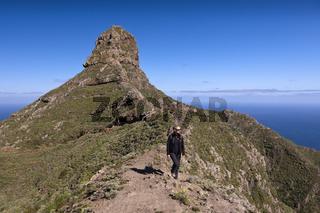 Roque de Taborno im Anaga Gebirge, Teneriffa