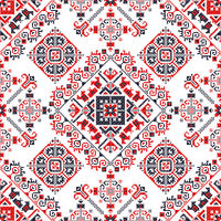 Romanian traditional pattern 181