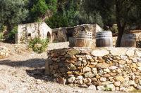 old mill of Plakias - Crete
