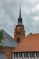 St. Laurentii Kirche in Itzehoe, Schleswig-Holstein, Deutschland