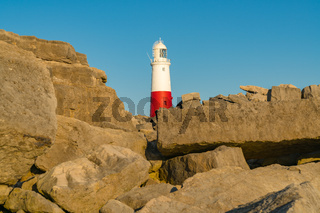 Portland Bill Lighthouse, Jurassic Coast, Dorset, UK