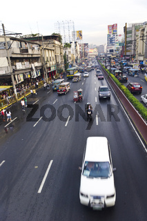 manila traffic, asia city