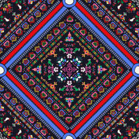Hungarian embroidery pattern 45