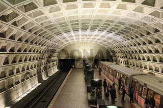 Washington DC Metro Interior