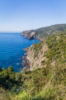 North West coast Sardinia island. Italy