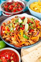 Homemade Chicken Fajita