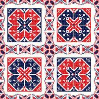 Romanian traditional pattern 82