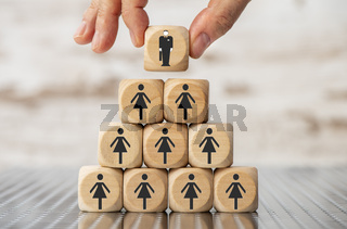 choice between businessman or businesswoman