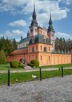 the famous Swieta Lipka (Heiligelinde or Holy Lime) Church,Masuria,Poland