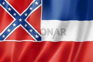 Mississippi flag, USA