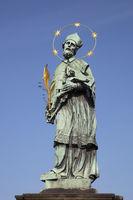 Hl. Johannes Nepomuk, Statue at the Charles Bridge, Prague