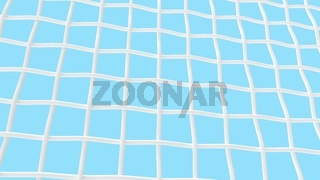 3D rendering of a mesh grid woven grid isolated even background