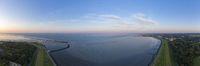 Grimmershörner-Bucht bei Cuxhaven Grimmershoerner Bay