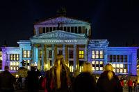 berlin, festival of lights,gendarmenmarkt