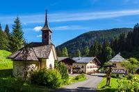 Der Hirschbichl im Berchtesgadener Land