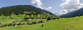 Panorama des Kartitscher Sattel im Lesachtal in Osttirol