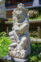 Ancient traditional statue of the deity Barong