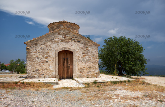 The church of Archangel Michael in Kato Lefkara village. Cyprus
