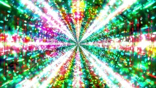 Glowing blinking hyper space galaxy 3d illustration background wallpaper design artwork