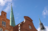 Church St.Jakobi 001. Luebeck. Germany