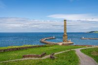 The Candlestick Chimney in Whitehaven, Cumbria, England