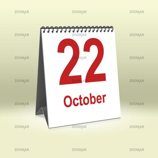 October 22th   22.Oktober