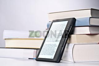 Ebook und gedruckte Bücher