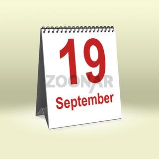 September 19th   19.September