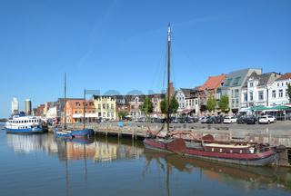 Husum in Nordfriesland,Schleswig-Holstein,Deutschland