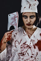 bloody woman doctor