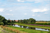 View of Schnackenburg on the Elbe