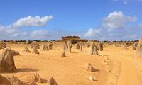 Desert road in australia