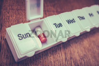 Seven Day Pill Box