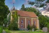 Village church Zechlinerhuette, Brandenburg, Germany