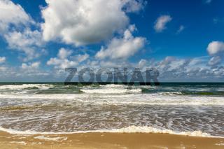 Meeresblick Strand Paal 17