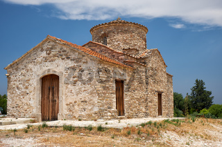 The church of Archangel Michael in Kato Lefkara village. Cyprus