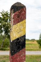 Stresow Border Memorial on the Elbe