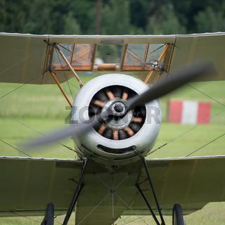 Vintage rotary engine