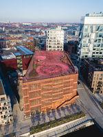 Aerial View of Konditaget Luders in Copenhagen