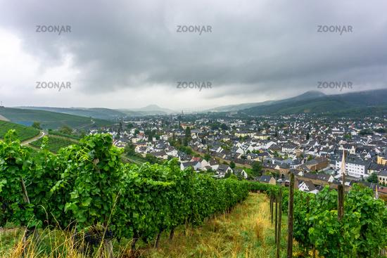 View on Bad Neuenahr Ahrweiler in Germany