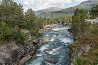 River Rauma in Romsdalen, Norway
