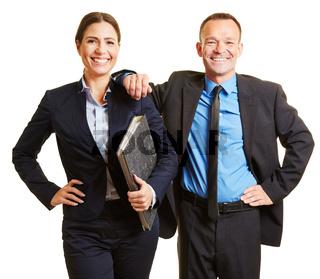 Zwei Berater als Team