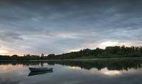 Summer eveing at the lake