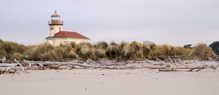 Bullards Beach Coquille River Lighthouse Bandon Oregon Pacific Coast