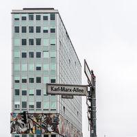 Residential buildings from soviet era in East Berlin