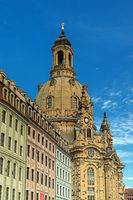 The famous Church of Our Lady, Dresden, Germany